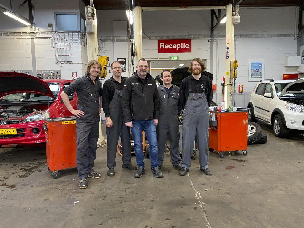 De werkplaats van Klaaysen Auto's